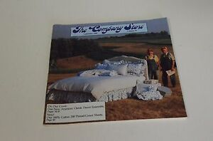 Details about 1988 The Company Store #78 Home Goods Catalog Bedding Pillows  Beds Chairs Ads