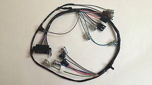 1965 impala ss under dash instrument cluster wiring harness image is loading 1965 impala ss under dash instrument cluster wiring