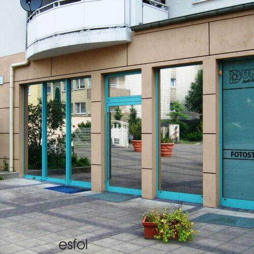 Sonnenschutzfolie 83/% PREMIUM Hitzeschutz Fenster Folie  Spiegelfolie *AUSSEN