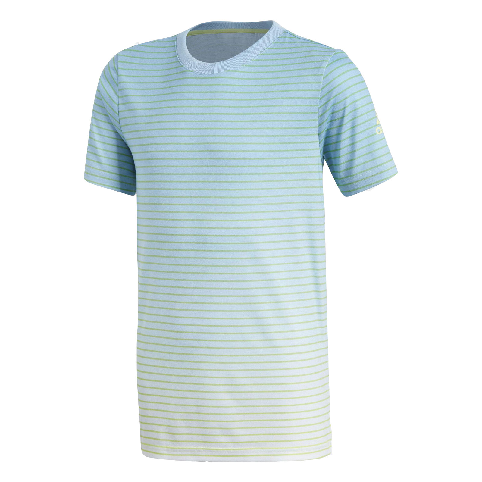Adidas Boys Melbourne Crew Breathable Lightweight Tennis T-Shirt