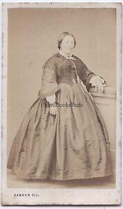 Samson Fotografia Primitivo Parigi Francia CDV Vintage Albumina Ca 1860