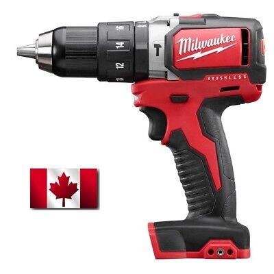 Milwaukee 2702-20 18V M18 Lithium Ion Brushless Hammer Drill Driver NEW