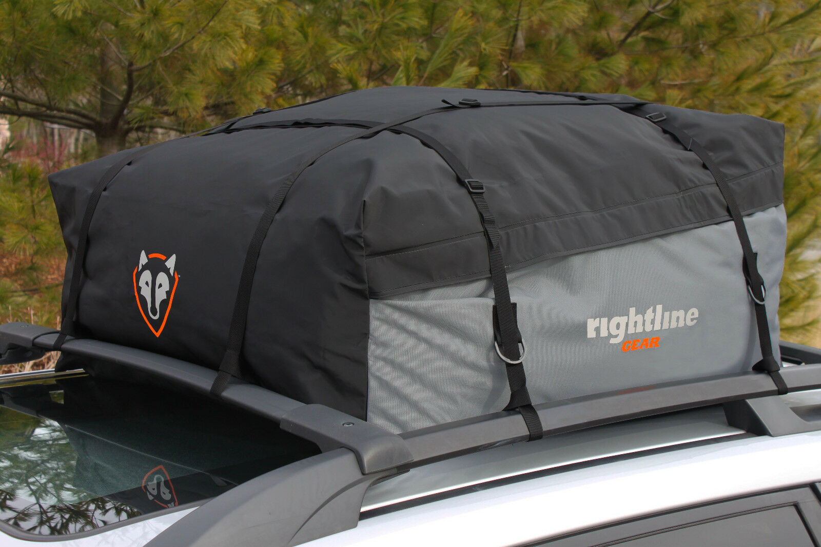NEW NEW NEW Rightline Gear Sport 1 Car Top Carrier - 100S10 - 12 cu ft - 100% WATERPROOF a393e3