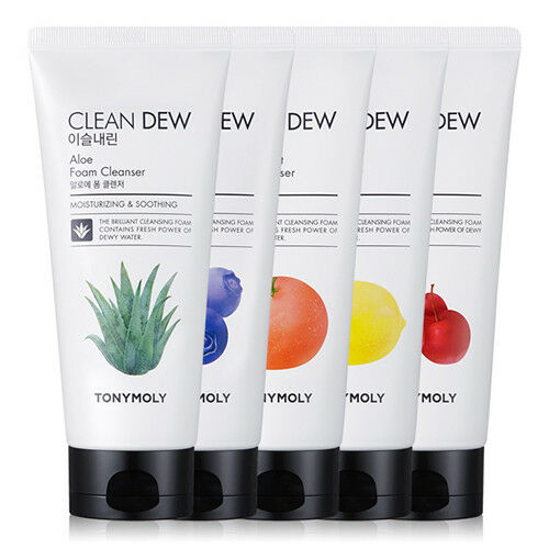 TONYMOLY-Clean-Dew-Foam-Cleanser-180ml