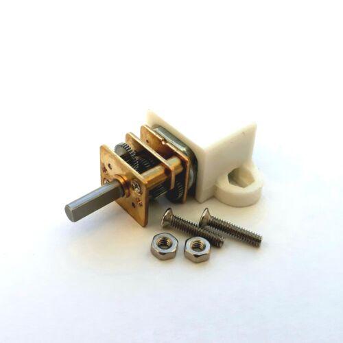 N20 DC Geared Motor 6V 30RPM 3mm Shaft Arduino PICAXE Raspberry PI UK Seller