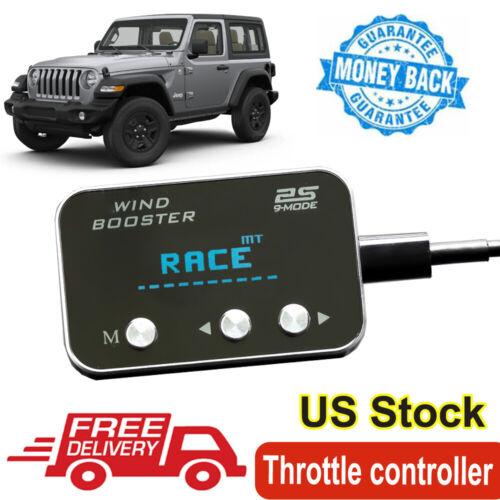 Pedal Boost Commander Throttle Response Controller for Jeep JK Wrangler 07-2018