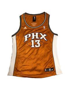 6b858c25bf9 Adidas Women s NBA Jersey Phoenix Suns Steve Nash SPARKLES Orange Sz ...