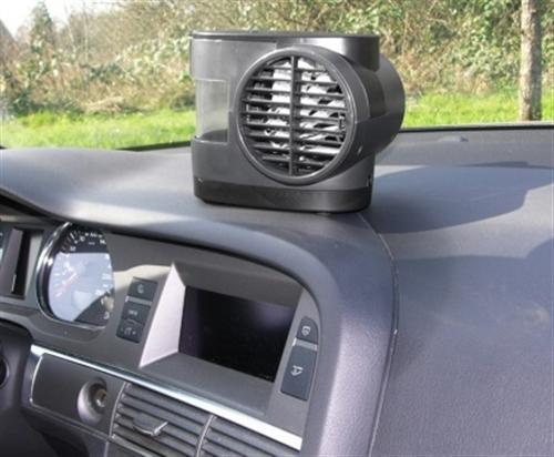 Eufab Mini Klimaanlage Lüfter kühle Luft unterwegs 12V//230V