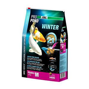 Jbl Propond Winter M, 3,6 Kg, Nourriture Hiver (6 Mm) Pour Koi Moyenne 35-55 Cm