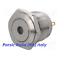 miniatura 1 - PULSANTE ANTIVANDALO STAGNO IP67 acciaio inox D= 16mm con PUNTO LED VERDE 12V