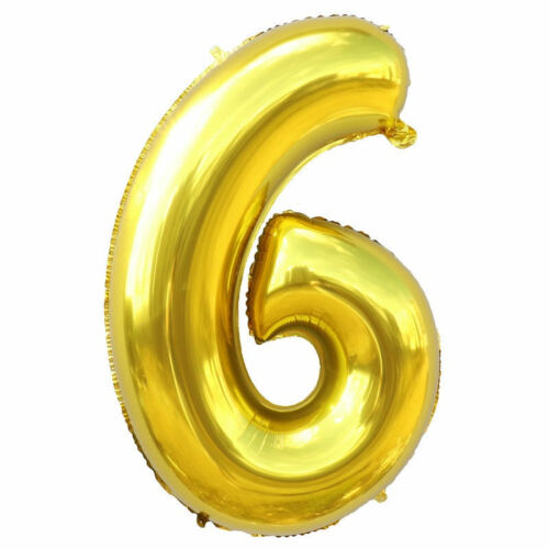 """40/"""" Large Foil 0-9 Number Party Decoration Baloons Wedding Anniversary Gift BG"""