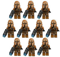 10 Lego Star Wars Geonosis Clone Trooper Minifig Lot 75089 Storm Figure