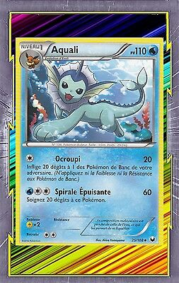 NB05: Explorateurs Obscur Aquali 25//108 Carte Pokemon Neuve Française