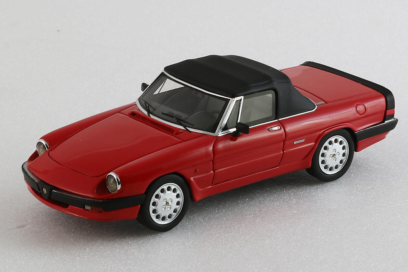 Alfa Romeo Spider 1986 3a serie Closed - 1 43ème - Rouge - Milena Rose