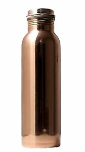 Copper Water Bottle Designed Herbal 100/% pure Joint /& Leak Free From india