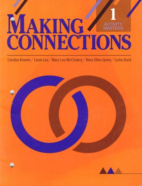 Making Connections 1 Activity Masters ESL ELL ELD Kessler / Heinle New