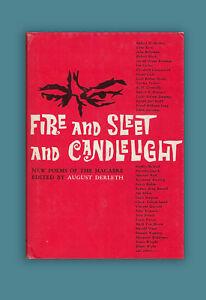 Fire-amp-Sleet-amp-Candelight-August-Derleth-Robert-Bloch-Arkham-House-Book-Poems