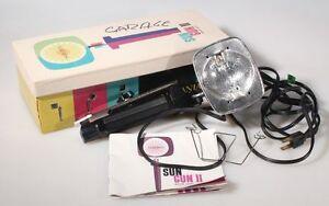 SYLVANIA SUN GUN II MOVIE LIGHT IN BOX W/ INSTRUCTIONS | eBay