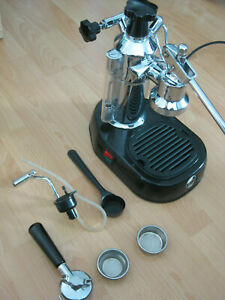 La-Pavoni-Europiccola-Espresso-Siebtrager-Handhebel-Chrom-Top