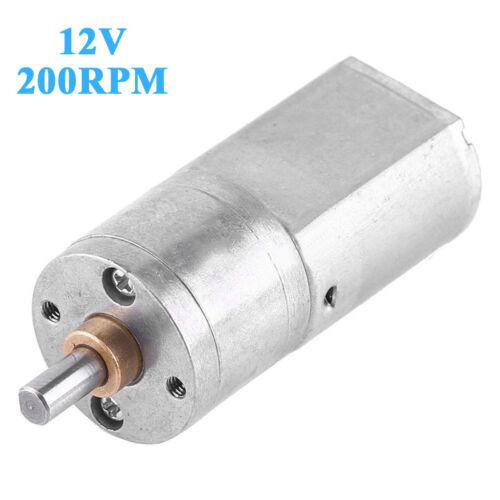 Dc12v Alto Torque Turbo Worm Motor Engranado Eléctrico Micro Caja Equipamiento