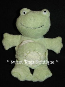 Pottery Barn Kids Green Plush Frog W Book Lovey Ebay