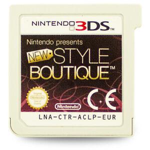3DS-Jeu-New-Style-Boutique-sans-Emballage-D-039-Origine-sans-Manuel-BB