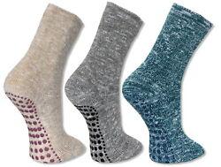 2 Paar ABS Socken Stopper Anti-Rutsch Frotteesocken Homesocks Wellness Haussocke