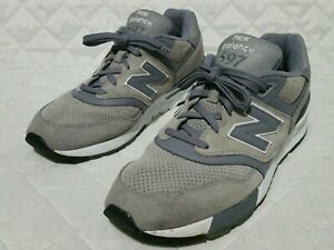 info for 5a17f e35ab Details about New Balance 597 Grey ML597HTB Sz 12