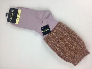 NEU-Croenert-Socken-mit-Weichbund-rosa-Kaschmir