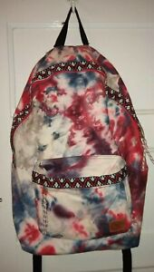 Urban-Outfitters-Spurling-Lakes-Red-Tie-Dye-Backpack-embroidery