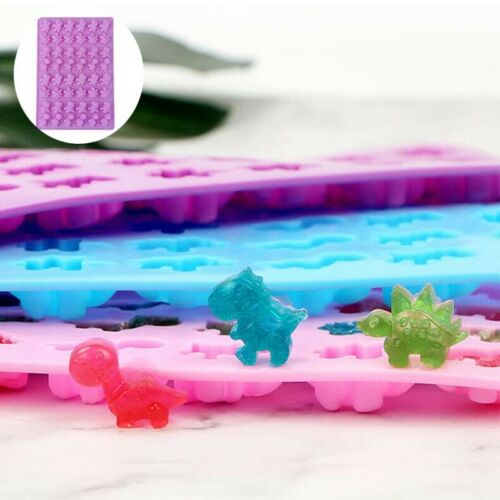 48 Cavity Silicone Gummy Bear Chocolate Mold Candy Maker Ice Tray Jelly Mould gr