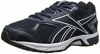 Reebok Mens QuickChase Run Running Shoes Sneakers New Black Silver White