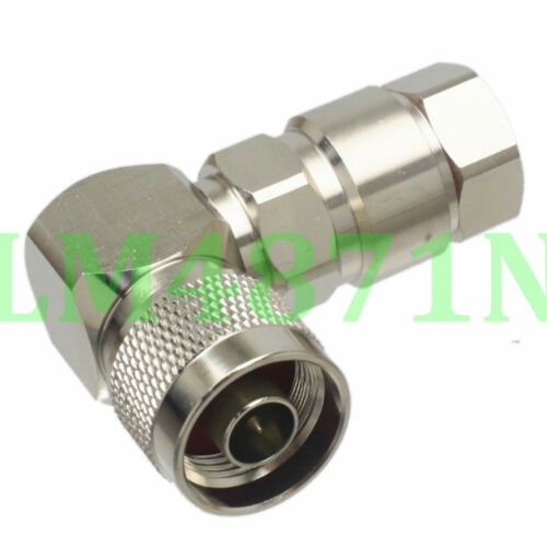 """4pcs Connector N male plug clamp 90 ° 1//2/"""" in for Superflexible Andrew Heliax RA"""