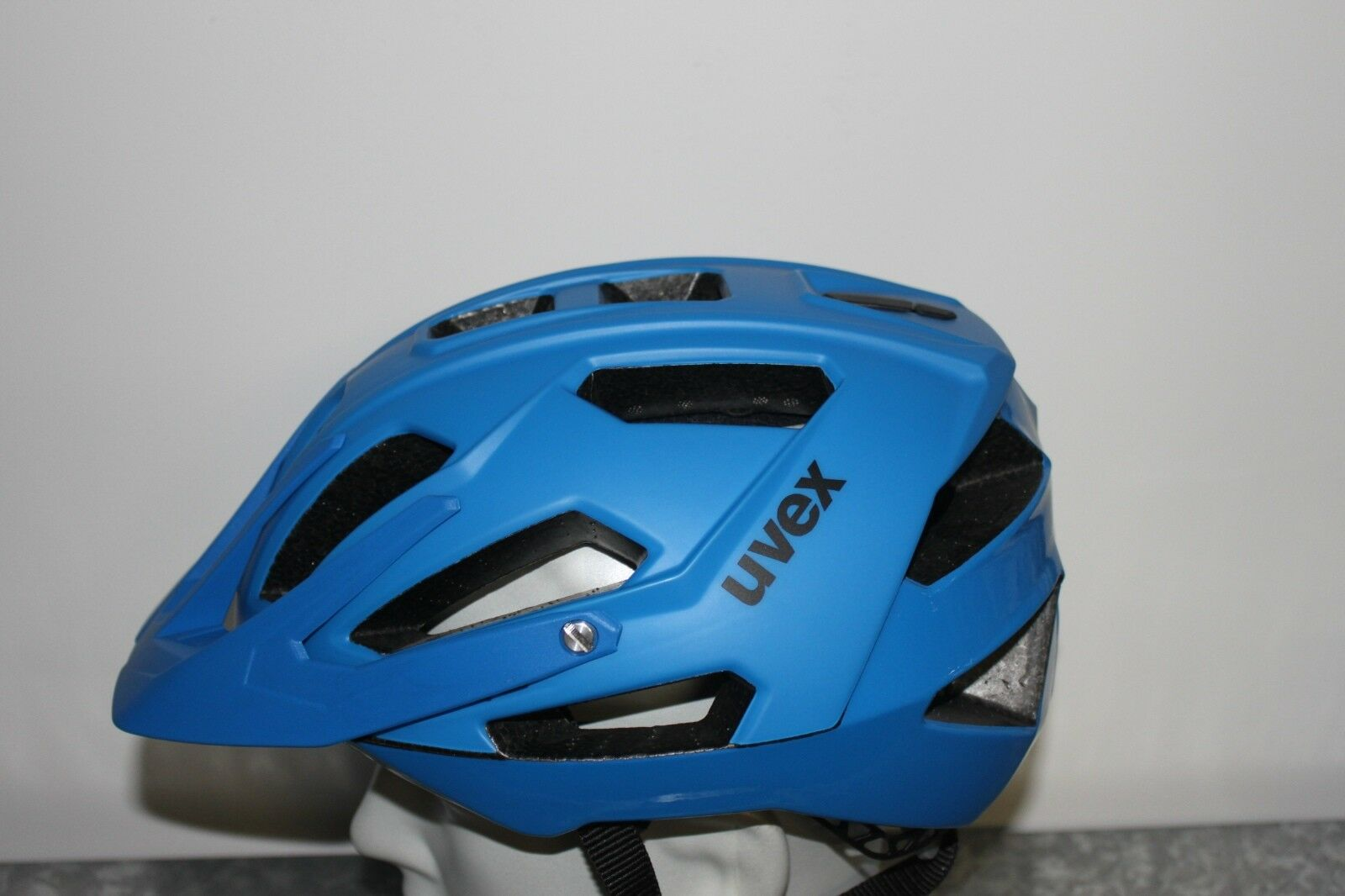 Uvex Quatro, bluee mat shiny - Fahrradhelm Size L 56-61 cm