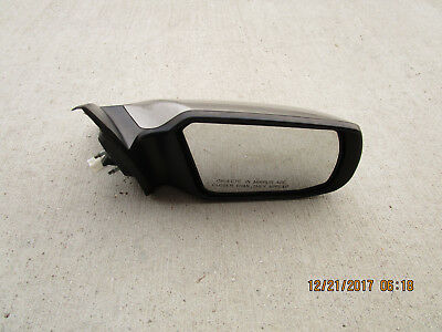 Left Driver Side Mirror Glass w// Rear Back Plate OE For 10-12 Mustang