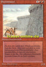Steinmauer (Wall of Stone) Magic limited black bordered german beta fbb foreign