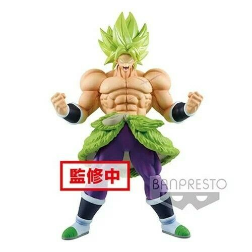 Banpresto Dragon Ball Super Chokoku Buyuden Super Saiyan Broly Full Power Statue