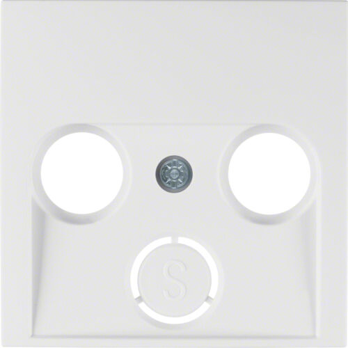 Berker S.1 Schalterprogramm polarweiß glänzend Schalter Steckdosen Rahmen Wippen