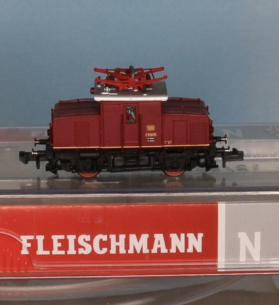 Fleischmann 737172, pista N, DB e-Lok 69 05, rosso, época 3 digital