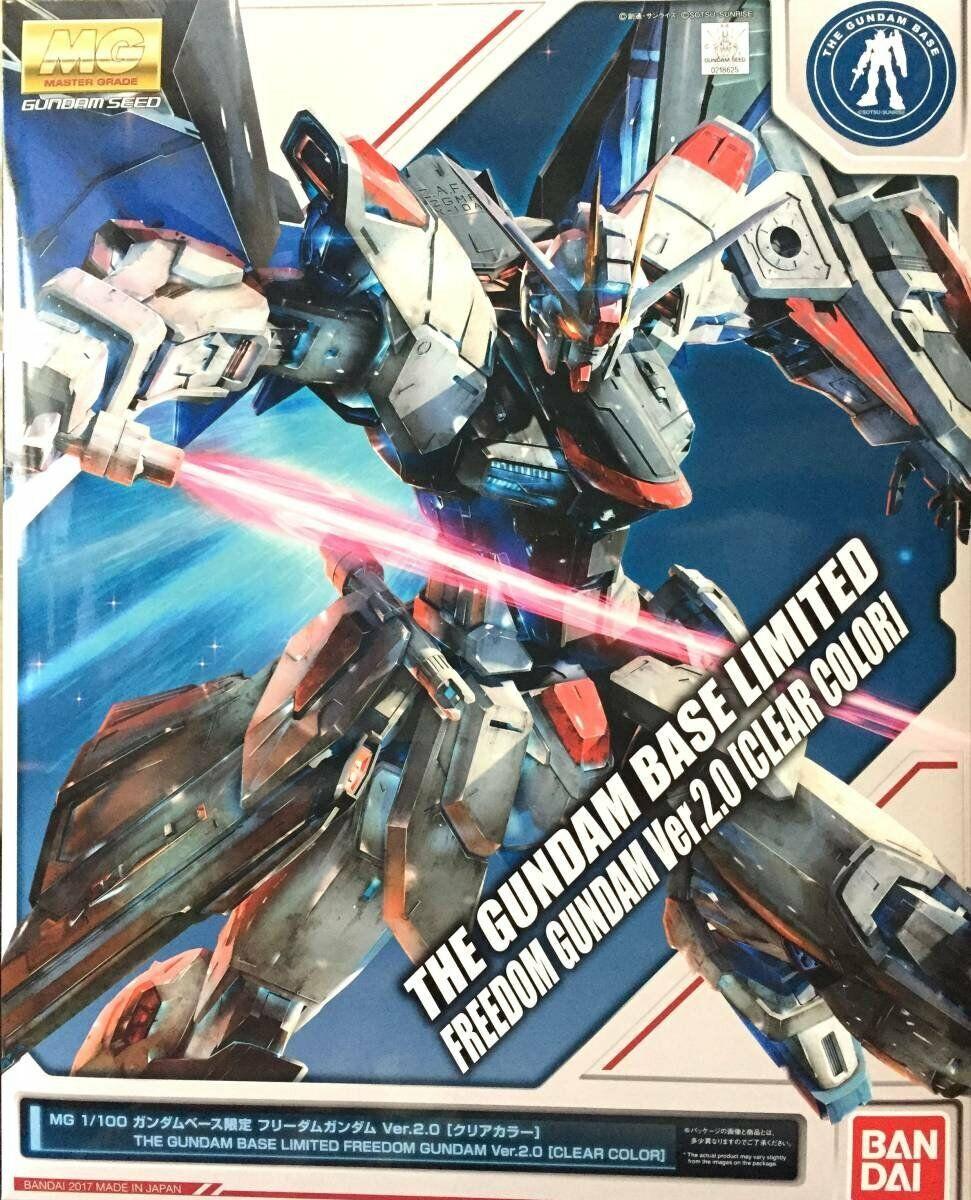 MG 1  100 Gundambaserad begränsad frihet Gundam Ver.2.0 Tydlig färg japan NEW  S