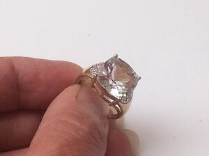 BEAUTIFUL LARGE HEAVY 5g ART DECO DESIGN CLEAR QUARTZ WITH DIAMONDS RING SIZE O - folkestone, Kent, United Kingdom - Returns accepted Most purchases from business sellers are protected by the Consumer Contract Regulations 2013 which give you the right to cancel the purchase within 14 days after the day you receive the item. Find out mo - folkestone, Kent, United Kingdom