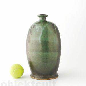 Grosse-Studio-Keramik-Vase-von-Ralf-Busz-1981-signiert-H-30cm-12-034-Art-Pottery