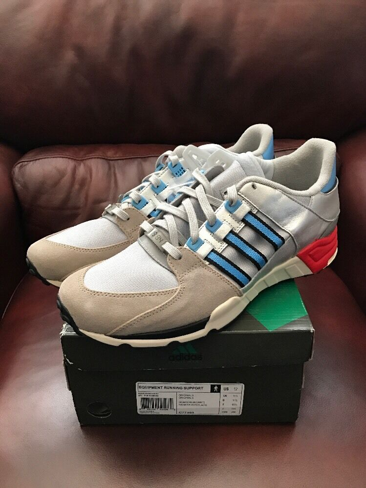 Packer shoes X Adidas EQT Support Silver bluee C77363 New Ds Sz 12