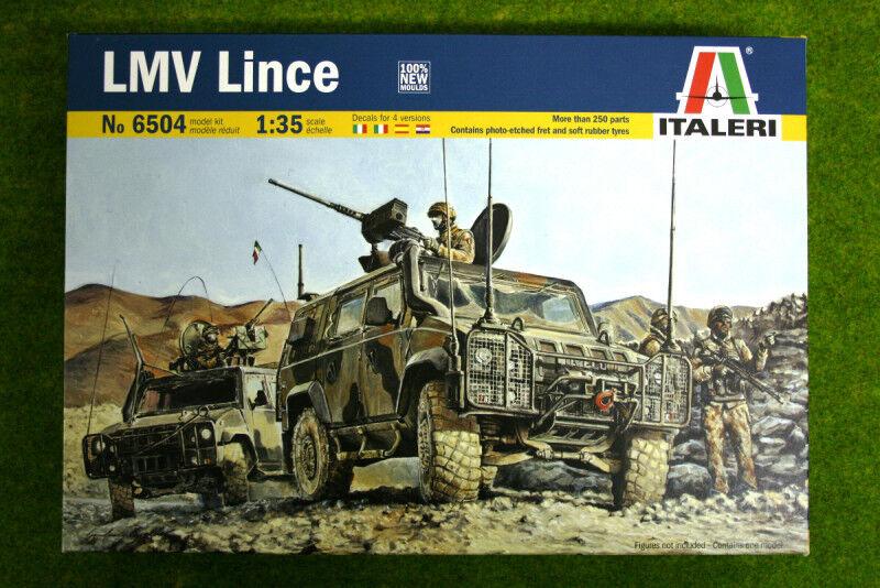 LMV Lince 1 35 Scale Italeri 6504