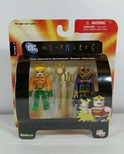 DC Minimates Series 3 Aquaman /& Ocean Master