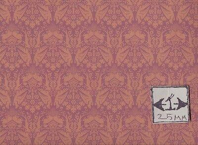 Brodnax Prints Peregrine 1VT304 Victorian Era wallpaper dollhouse 1/12 scale