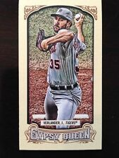 2014 Topps Gypsy Queen Mini #125A Justin Verlander/Grey jersey