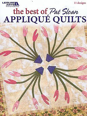The Best Of Pat Sloan Applique Quilts Pattern & Instruction Book - 11 Designs