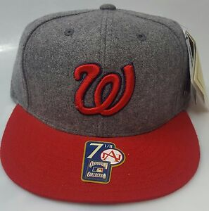 452b3e2cf Details about New! MLB Washington Nationals Embroidered American Needle  Fitted Cap 7 (1/8)