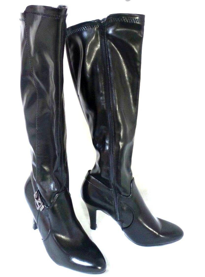 New! Dana Buchman Womens ~Freida~ Knee High Boots-Black    190G